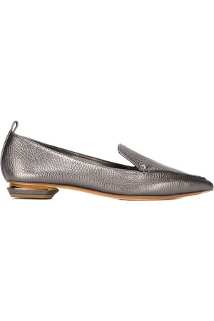 Nicholas Kirkwood BEYA loafers 18mm - Metallic