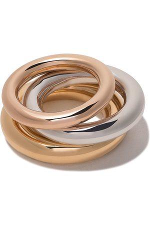 CHARLOTTE CHESNAIS Brahma set of rings - Metallic