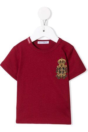 Dolce & Gabbana Heraldic patch T-shirt