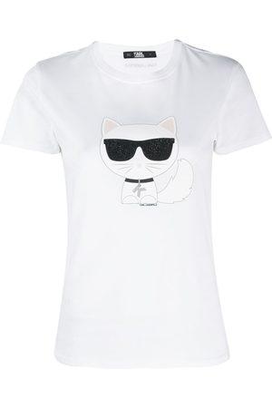 Karl Lagerfeld Women T-shirts - Ikonic Choupette T-shirt