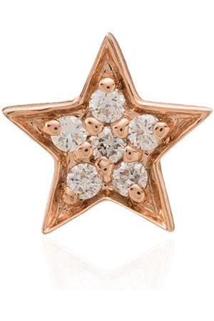 Andrea Fohrman 14kt rose diamond stud earring