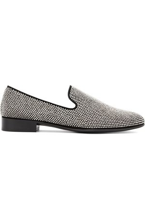 Giuseppe Zanotti Slip-on micro studded loafers