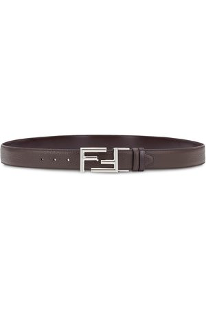 Fendi FF buckle reversible slim belt
