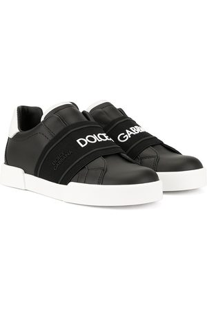 Dolce & Gabbana Elasticated strap logo sneakers