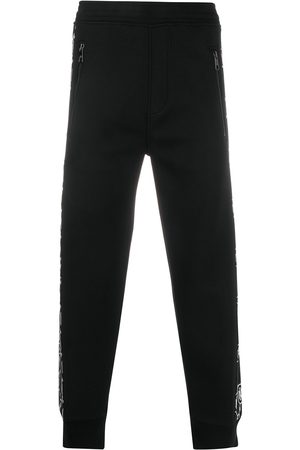 Neil Barrett Monogram panel track pants