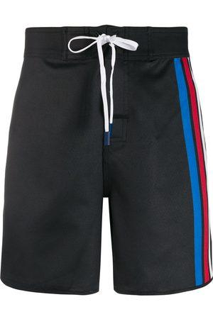Perfect Moment Men Swim Shorts - Super stripe board shorts