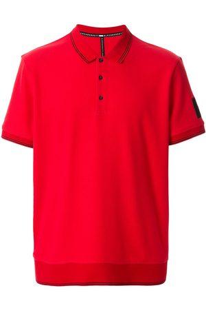 Blackbarrett Striped trim polo shirt
