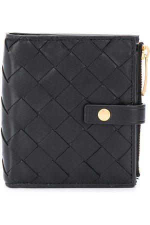 Bottega Veneta Intrecciato weave compact wallet