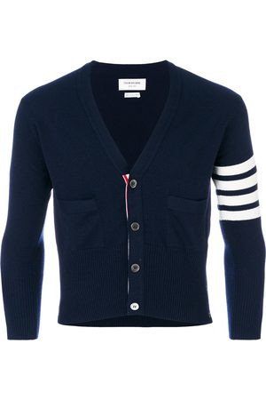 Thom Browne 4-Bar Short Cashmere Cardigan