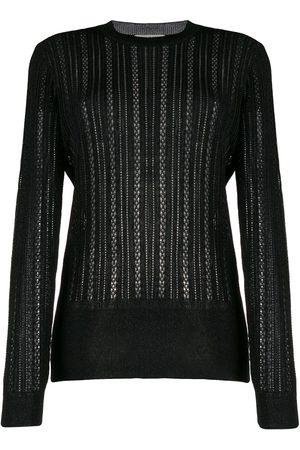 MARCO DE VINCENZO Sheer knitted jumper