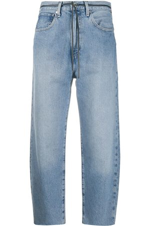 Levi's High-waisted cropped jeans