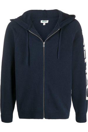 Kenzo Logo detail hoodie