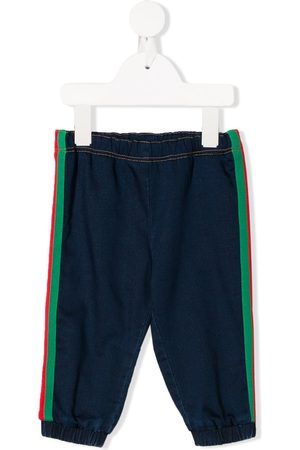 Gucci Sweatpants - Web trim track trousers