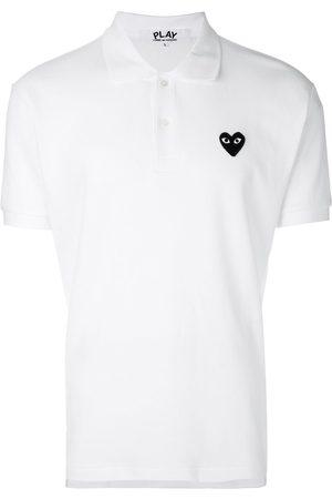 Comme des Garçons Men Polo Shirts - Heart logo polo shirt