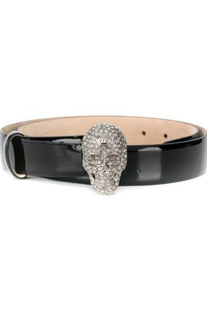 Philipp Plein Crystal skull belt