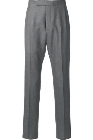 Thom Browne Backstrap cropped tailored trousers - Grey