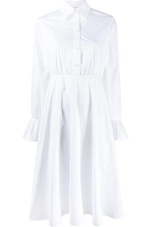VALENTINO Flared midi shirt dress