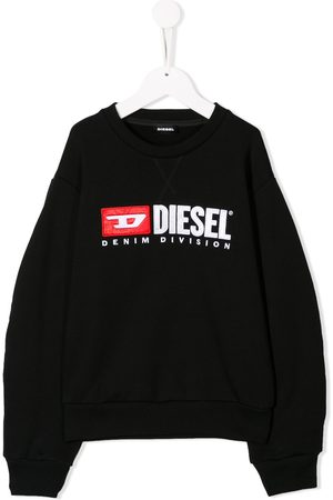 Diesel Girls Hoodies - Contrast logo sweatshirt