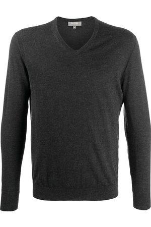 N.PEAL Men Sweaters - The Conduit fine-knit jumper - Grey