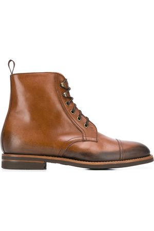 Scarosso Paolo Caramello lace-up boots