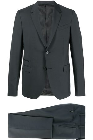 Valentino Two-piece notched-lapel suit - Grey