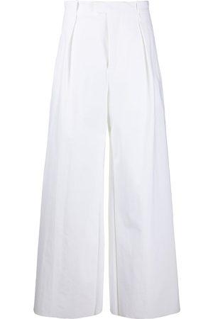 Bottega Veneta High-waisted wide-leg trousers
