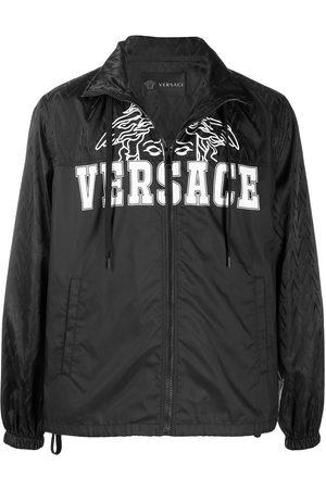 VERSACE Logo print jacket