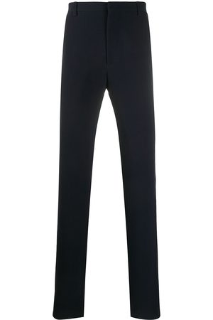 Armani Ribbed straight-leg trousers