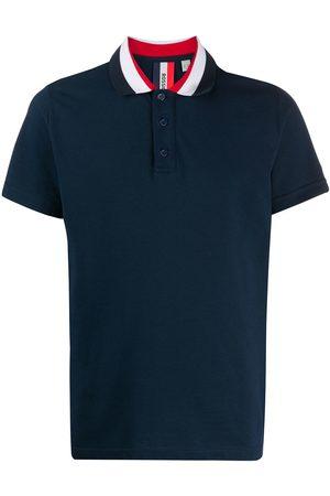 Rossignol Racer stripe collar cotton polo shirt