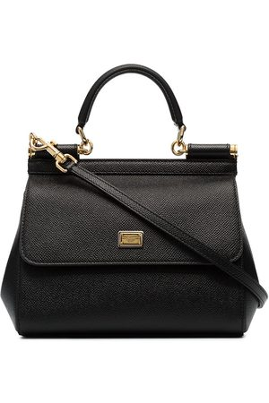 Dolce & Gabbana Women Shoulder Bags - Sicily small leather bag