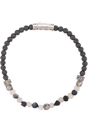 John Hardy Classic Chain beaded bracelet - Grey