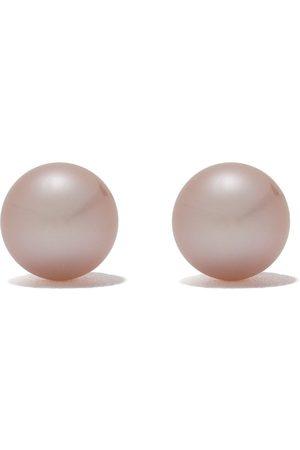 Yoko London 18kt white gold Classic freshwater pearl stud earrings - 7