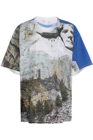 DOUBLET Rushmore T-shirt - Grey
