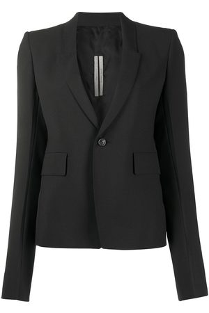 Rick Owens Structured shoulder bell sleeve blazer