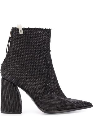 Premiata Women Heeled Boots - 100mm block heel boots