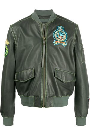 Mr & Mrs Italy Patchwork bomber