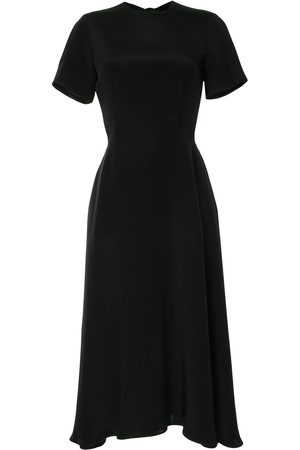 Macgraw Bow-fastened midi dress