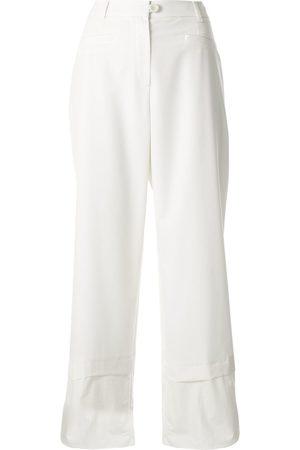 GOEN.J Wide-leg cropped trousers