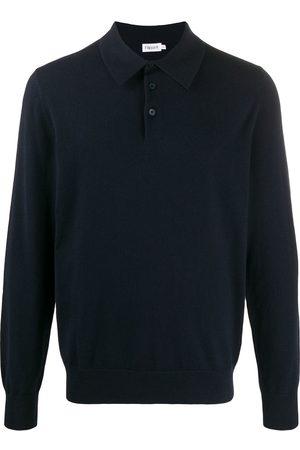 Filippa K Fine knit longsleeved polo shirt