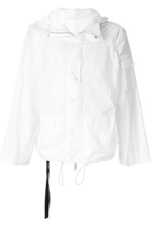 Unravel Project Men Jackets - Concealed-fastening hooded jacket