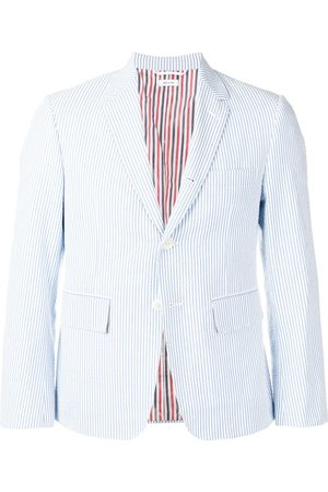 Thom Browne Men Blazers - Seersucker Sport Coat