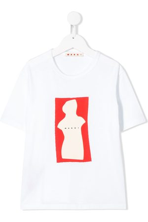 Marni Short sleeve abstract sculpture T-shirt