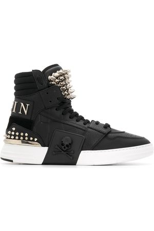 Philipp Plein Phantom Kicks stud-embellished sneakers