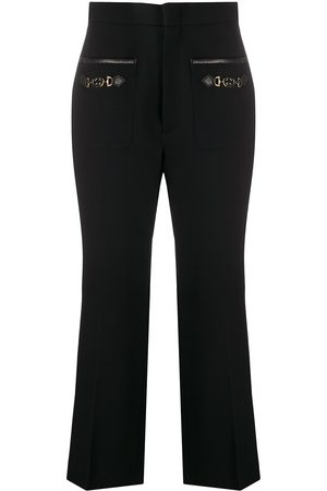 Gucci Horsebit pocket cropped trousers