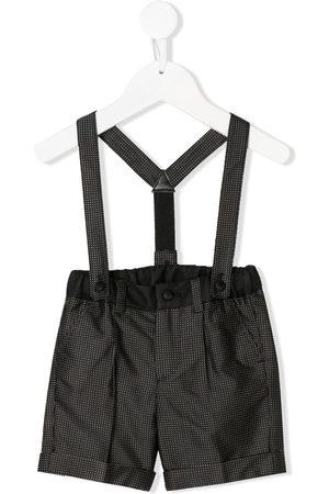 Dolce & Gabbana Polka dot jacquard motif shorts