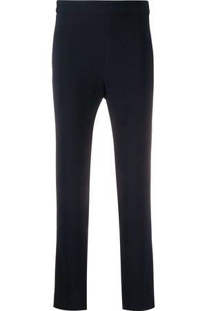 Brag-Wette Plain cropped trousers