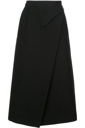 WARDROBE.NYC Women Midi Skirts - X The Woolmark Company Release 05 wrap midi skirt