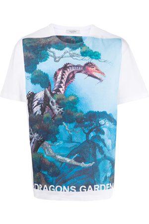 VALENTINO Dragons Garden print T-shirt