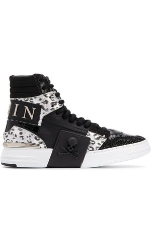 Philipp Plein Phantom Kick$ high top sneakers