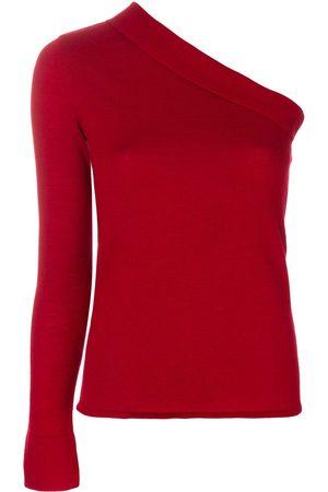 Cashmere In Love Women Tops - Cashmere asymmetric top